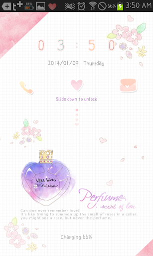 perfume go locker theme