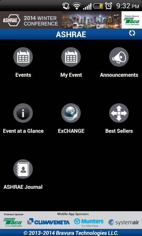 ASHRAE - screenshot