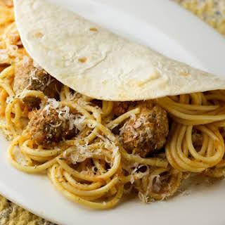 Spaghetti Tacos!.