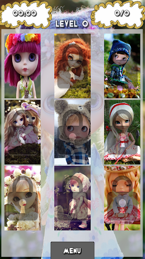 Beautiful Dolls Puzzle