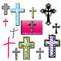 Christian Cross Sticker Pack logo