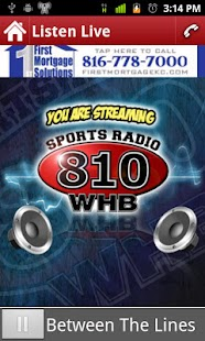 Sports Radio 810 WHB - screenshot thumbnail
