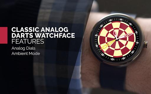 Classic Analog Darts WatchFace