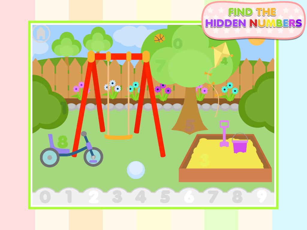find the hidden numbers screenshot