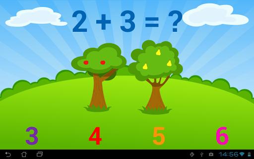 Игра Математика для детей для планшетов на Android