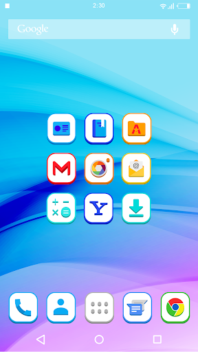 3Dex White - Icon Pack HD