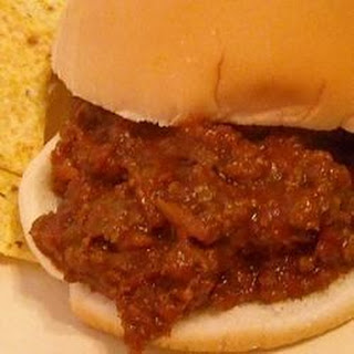 M's Sloppy Joe Sauce.