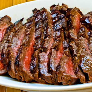 Marinated Flank Steak.