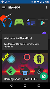 BlackPOP - Icon Pack v3.2
