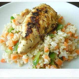 Oregano Chicken.