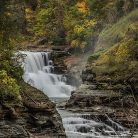 Little Falls by Tracy Riedel-Dorsch - Landscapes Waterscapes ( letchworth, waterfalls, travel, little falls, new york,  )