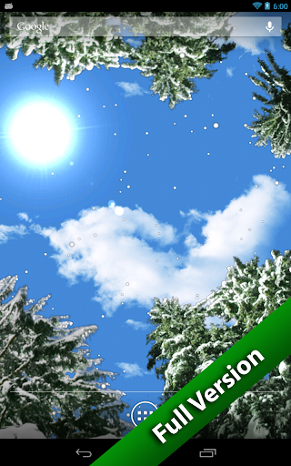 【免費個人化App】飘雪冬季免费版-APP點子