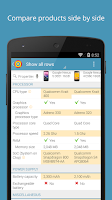 Screenshot of PriceSpy