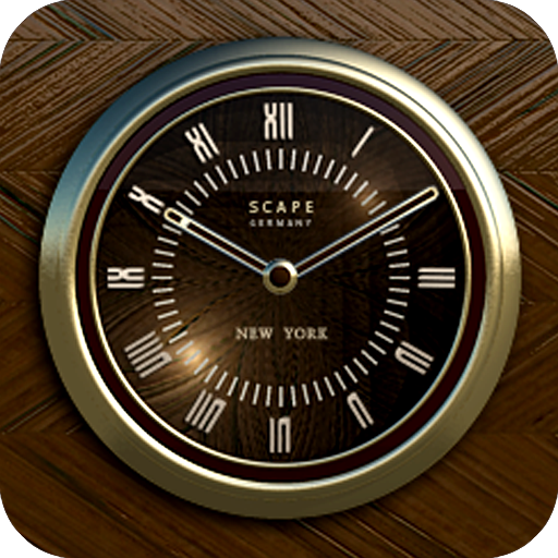 NEW YORK Designer Clock Widget