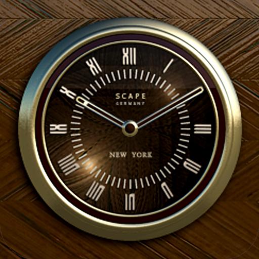 NEW YORK Designer Clock Widget