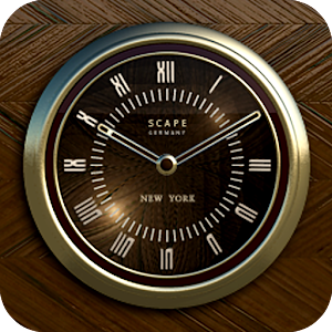 NEW YORK Designer Clock Widget Gratis