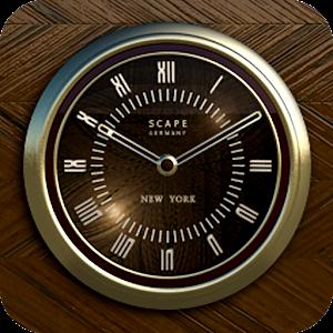 NEW YORK Designer Clock Widget Gratis