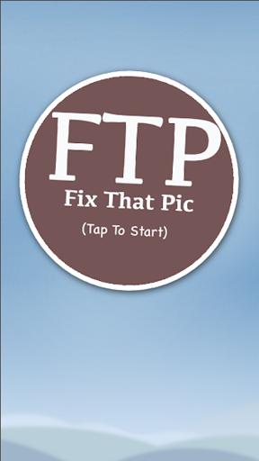 Fix That Pic
