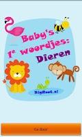 Screenshot of Baby peuter woordjes: Dieren *