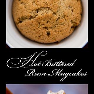 Hot Buttered Rum Mugcakes