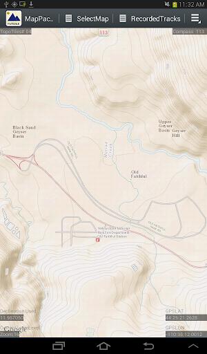 MapPack GPS YellowStone