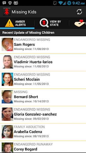 Missing Kids Android