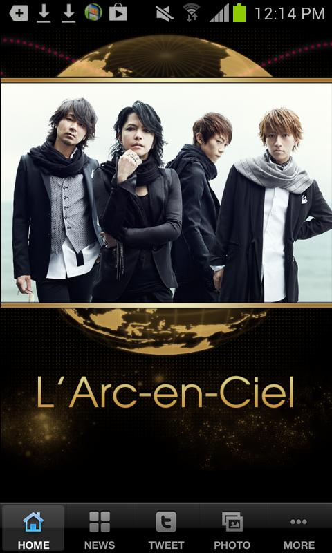 L'Arc~en~Ciel Official Appli - screenshot