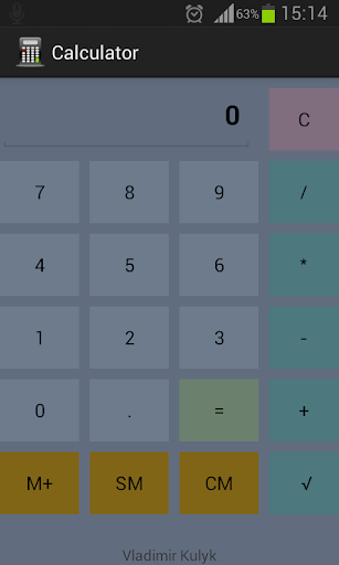 Calculator Metro Style