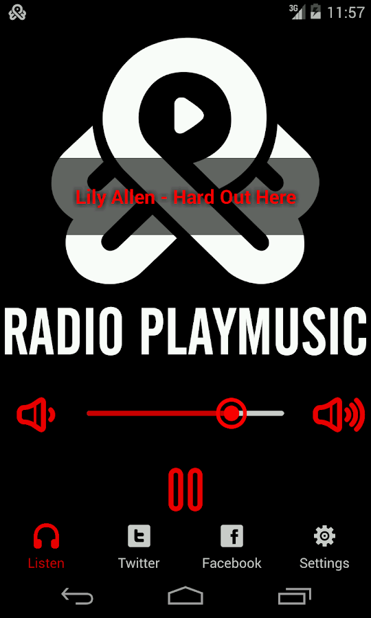 Radio PlayMusic - screenshot