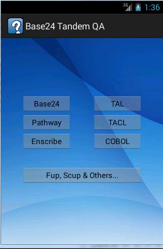 Base24 Tandem QA