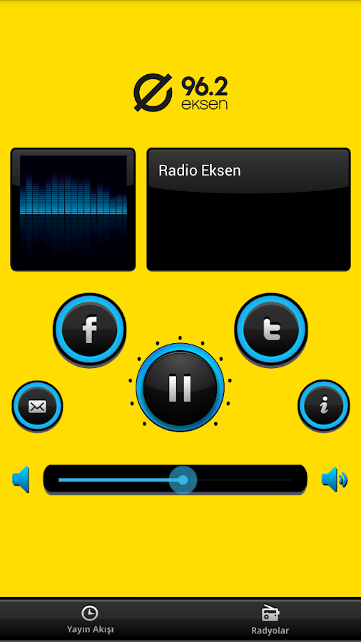 Radyo Eksen- screenshot