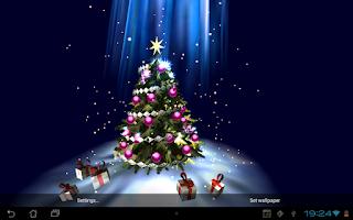 Screenshot of Christmas Tree 3D
