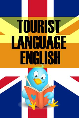 Tourist language english