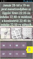 Screenshot of Miskolc  menetrend