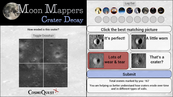 Moon Mappers Crater Decay- screenshot thumbnail