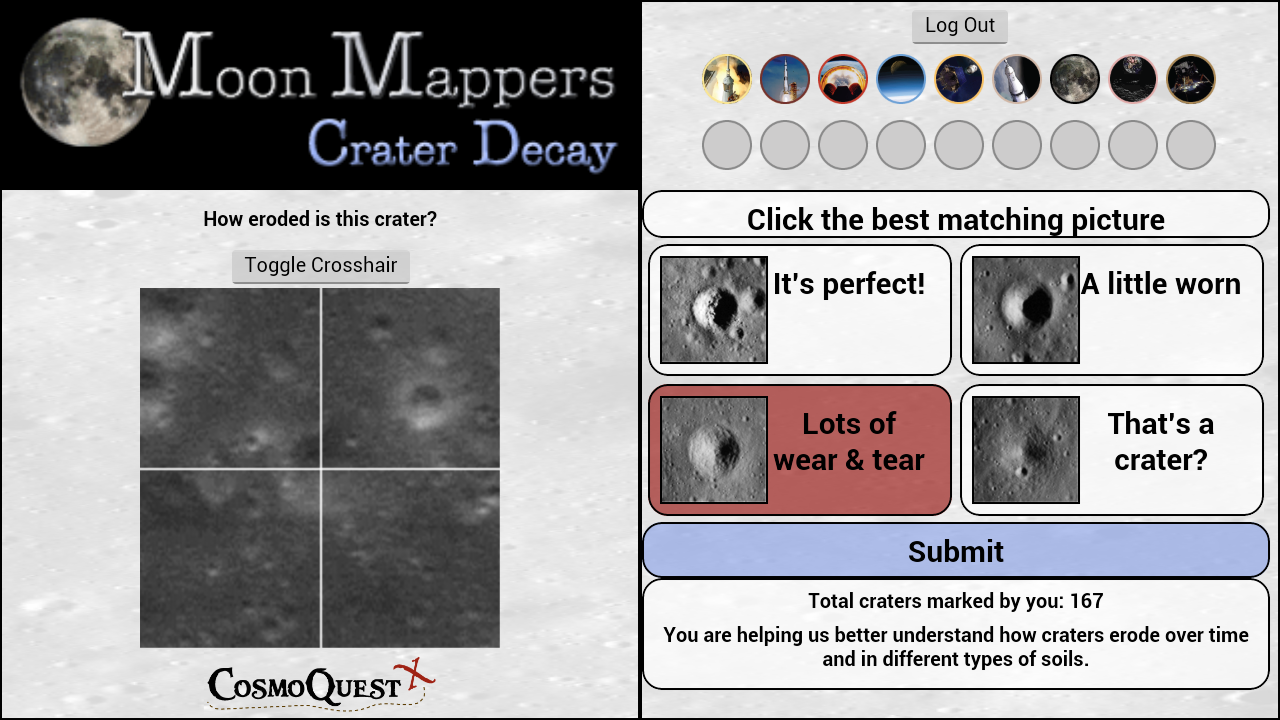 Moon Mappers Crater Decay- screenshot