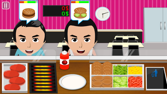Burger Cooking Game - screenshot thumbnail