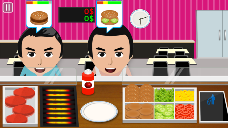 Burger Cooking Game - screenshot
