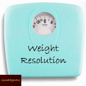 Weight Resolution Widget App