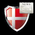 Danske Nyheder logo