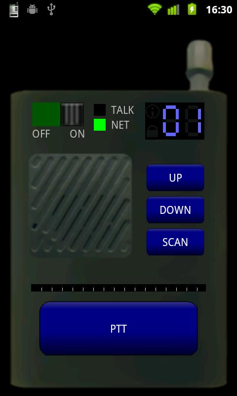 Virtual Walkie Talkie - screenshot