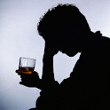 Alcoholism addiction test icon