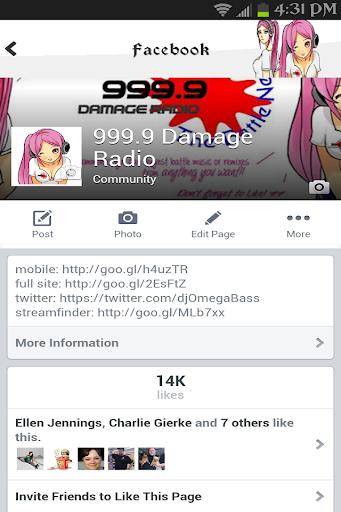 999.9 Damage Radio
