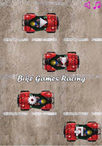 バイクのゲームレース