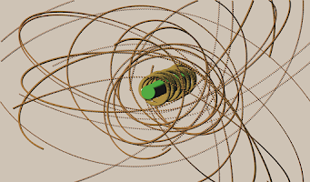 Screenshot of Orbit Simulator