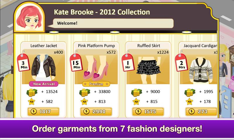 #4. Tap Boutique - Girl Fashion (Android)