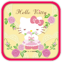 Hello Kitty Loves Pink Roses icon