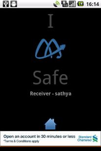I AM SAFE- screenshot thumbnail
