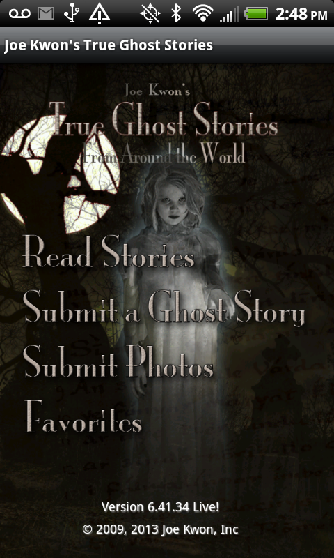 Joe Kwon's True Ghost Stories - screenshot