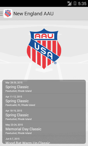 New England AAU